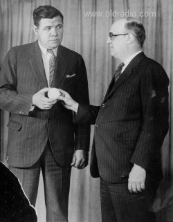 Babe Ruth and John Shepard III
