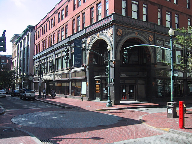 Shepard Building - corner of Westminster & Union